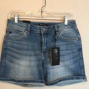 NWT Dear John Lillie distressed denim shorts 28